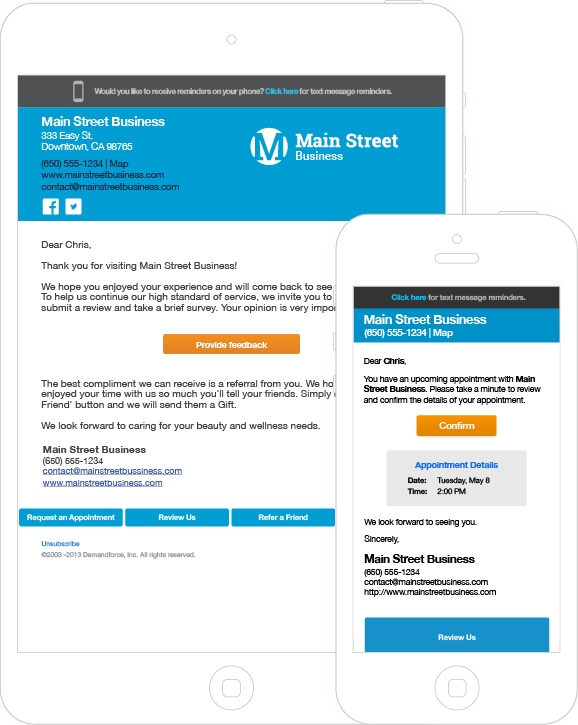 Email Marketing Services and Email Campaign By Demandforce