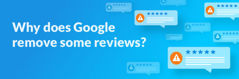 Why Google removes some online reviews