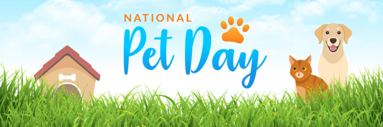 National Pet Day Blog